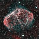 Crescent nebula C27,                                Peter Komatović