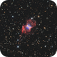 Sh1-89 (Sharpless 1-89, Moth Nebula, PN G089.8-00.6, PK 089-0.1),                                Chris Sullivan