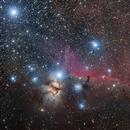 The Flame and Horsehead Nebulae,                                  Gary