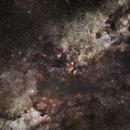 The black constellations,                                stille