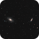 Bode's Galaxy and the Cigar Galaxy - M81 & M82,                                Justin Radomski