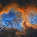 Soul Nebula, SH2-199, in Hubble Palette,                                Rick Stevenson