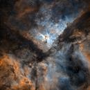 2-Panel Mosaic of Eta Carinae in SHO,                                Leonel Padron