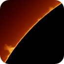 Solar prominence,                                Brian Ritchie