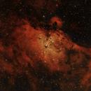 The Eagle Nebula,                                Omar Martinez