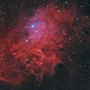 IC 405 - Flaming Star Nebula (HaLRGB),                                Yizhou Zhang