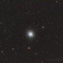 M13 Hercules globular cluster,                                JachBlak