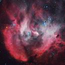 IC2944 Lambda Cen Nebula or Running Chicken Nebula,                                Renan