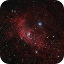NGC7635 - drizzle integration,                                Almos Balasi
