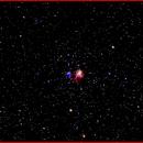NGC 1931 Open Star Cluster Nebula,                                AlBroxton