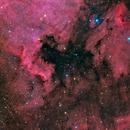 Deep Sky West Remote Observatory - NGC 7000,                                  Deep Sky West (Ll...