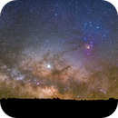 Baja Milky Way-Jupiter Riding the Dark Horse,                                Mirko M