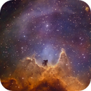 IC1848 Segment BiColor and Hubble Colors  with 16inch Newton,                    Sascha Schueller
