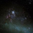 Tarantula Nebula on Magellanic clouds,                                  GregGurdak