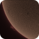 Sun (sunspot activity and prominence)  Aug 4th,                                John Leader