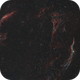 The Veil Nebula - brighter version,                                Simon