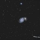M51 Galaxie du Tourbillon,                                Rebirth