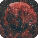 Jellyfish nebula in narrowband,                                Tom's Pics