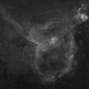 IC 1805 Wide Field in Hydrogen Alpha Light,                                  Dean Jacobsen