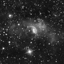 bubble nebula (mono),                                Thomas