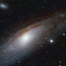 Andromeda Galaxy M 31, NGC 205,                                ArioN