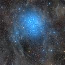 Widefield- M45 The Seven Sisters,                    Alberto Pisabarro