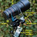 Motorized Samyang focuser prototype,                                  netspoon