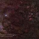 NGC7000 N. America, IC1318 Butterfly, NGC6888 Crescent & IC 5070 Pelican Nebulae WFOV,                                Robert Van Vugt