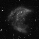 Abell 21 - Medusa Nebula - Two Nights - Bresser AR102-XS - Ha,                                altazastro
