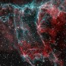 NGC 6992 The Eastern Veil Nebula HOO,                                Ron Stanley