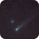 Salt, Pepper and Ice - Comet 21P/Giacobini-Zinner flying-by M37 open cluster,                                Maroun Habib