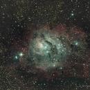 M8 The Lagoon Nebula,                                Fenton