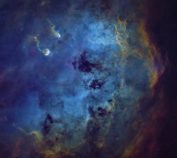 IC 410 - Tadpole Nebula,                                Adam Landefeld
