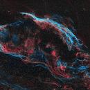 NGC6960 Test Using Starnet++,                                Tom Peter AKA Astrovetteman