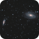 M81 (Bode's Galaxy), M82 (Cigar Galaxy) -- Nikon D5300 & 200 mm Telephoto lens,                                Nick Large