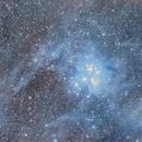 M45 with some surround nebula,                                Joostie