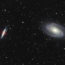 M81/82 HaRGB - No IFN,                                Deep Sky West (Lloyd)
