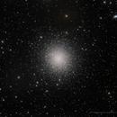M13 Hercules Globular Cluster and NGC 6207 galaxy,                                  marsbymars