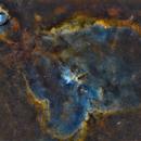 Heart nebula - IC1805 SHO,                                PiPais