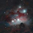 Running Man Nebula,                                Awni Hafedh