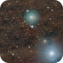 Comet C/2020 M3 ATLAS glides by Bellatrix,                                Dan Bartlett