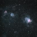 NGC346 in SMC Narrowband Bi-Colour,                                alistairsam