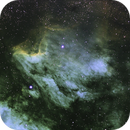 Pelican Nebula - IC 5070  HaOIISI-L ,                                Dennis Vollink