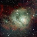 M8, LAGOON NEBULA, NGC 6523,                                khulzad