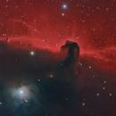 B33, IC 434 The Horsehead Nebula in HaLHaRGB,                                Mark Wetzel