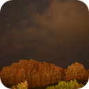 Clouds Rolling in at Zion - Animated GIF,                                JDJ