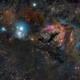 IC 348 and LBN 749,                                Jeffrey K Lovelace