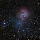 M20 - Trifid Nebula,                                Ahmed
