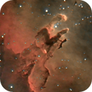 Pillars of creation in Eagle Nebula (Messier 16),                                Henning Schmidt