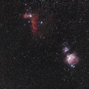 30 minutes au 135mm dans Orion pour Noël 2017 (Orion wide field),                                Laurent3112